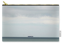 Carry-all Pouch featuring the photograph Sailing The Horizon by Linda Lees