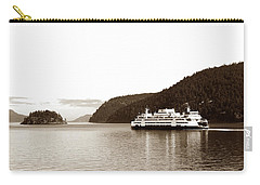 Carry-all Pouch featuring the photograph Sailing The San Juan Islands by Lorraine Devon Wilke