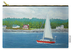 Sailing To New Harbor Carry-all Pouch