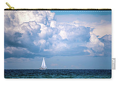 Sailing Under The Clouds Carry-all Pouch