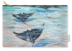 Sailing Under The Water Carry-all Pouch by Linda Olsen