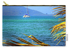Carry-all Pouch featuring the photograph Sailing Vacation by Alexey Stiop