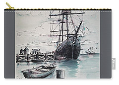 Sailing Vessel Pandora Carry-all Pouch