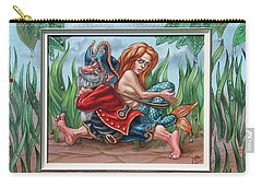 Sailor And Mermaid Carry-all Pouch