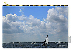Sails And Clouds Carry-all Pouch
