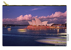 Carry-all Pouch featuring the photograph Sails In The Clouds By Kaye Menner by Kaye Menner