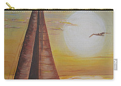 Sails In The Sunset Carry-all Pouch