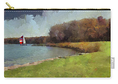 Sails On Lake Wampum Carry-all Pouch
