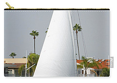 Carry-all Pouch featuring the pyrography Sails Up by Shoal Hollingsworth