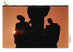 Saint At Sunset Carry-all Pouch