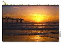 Saint Augustine Beach Sunrise Carry-all Pouch