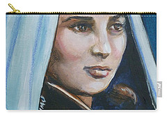 Saint Bernadette Soubirous Carry-all Pouch by Bryan Bustard