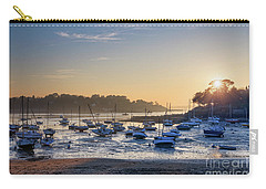 Carry-all Pouch featuring the photograph Saint Briac by Delphimages Photo Creations