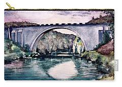 Saint Bridge Carry-all Pouch by Geni Gorani