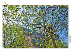 Carry-all Pouch featuring the photograph Saint Catharine's Church In Brielle by Frans Blok
