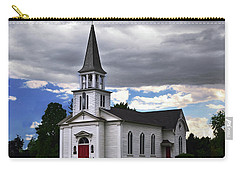 Carry-all Pouch featuring the photograph Saint James Episcopal Church 001 by George Bostian