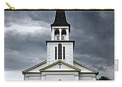 Carry-all Pouch featuring the photograph Saint James Episcopal Church 002 by George Bostian