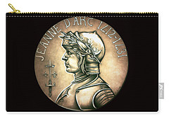 Saint Joan Of Arc Carry-all Pouch