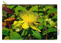 Saint John's Wort Blossom Carry-all Pouch