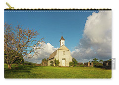Saint Joseph's Church Carry-all Pouch by Ryan Manuel