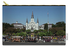 Saint Lewis Cathedral French Quarter New Orleans, La Carry-all Pouch