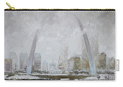 Saint Louis Winter Day Carry-all Pouch