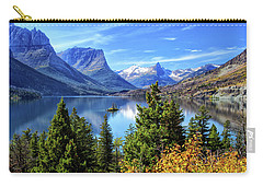 Saint Mary Lake In Glacier National Park Carry-all Pouch