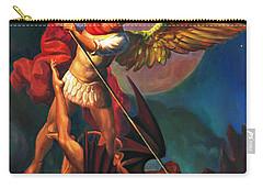 Saint Michael The Warrior Archangel Carry-all Pouch