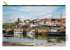 Saint Monans Harbour Carry-all Pouch by MaryJane Armstrong