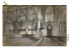 Saint Patrick's Cathedral In New York City Carry-all Pouch