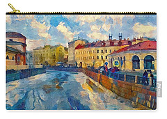 Saint Petersburg Winter Scape Carry-all Pouch