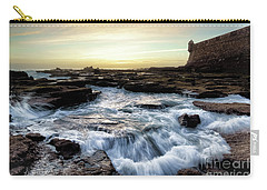 Carry-all Pouch featuring the photograph Saint Sebastian Castle Cadiz Spain by Pablo Avanzini