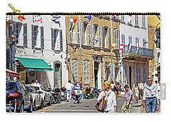 Saint Tropez Moment Carry-all Pouch by Keith Armstrong