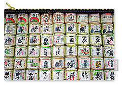 Sake Barrels Carry-all Pouch