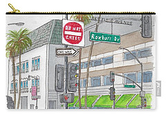 Saks Fth Avenue In Wilshire Bvd., Beverly Hills, California Carry-all Pouch