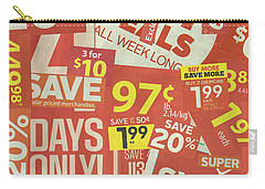 Sale Clippings Carry-all Pouch