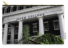 Carry-all Pouch featuring the photograph Salem College by Jessica Brawley