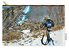 Saline River Winter Landscape Carry-all Pouch