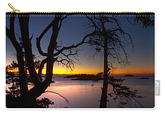 Salish Sunrise Carry-all Pouch by Randy Hall