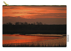 Salmon Colored Slough Carry-all Pouch by Laura Ragland