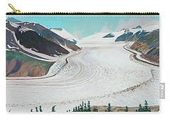 Salmon Glacier, Frozen Motion Carry-all Pouch
