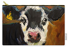 Salt And Pepper Cow Carry-all Pouch