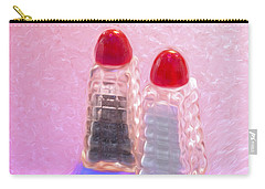 Salt And Pepper Shakers Carry-all Pouch