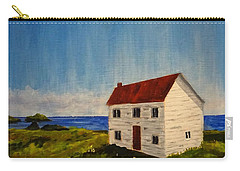 Saltbox House Carry-all Pouch by Diane Arlitt