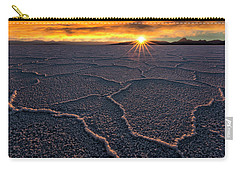 Salt Flats Sunset Carry-all Pouch