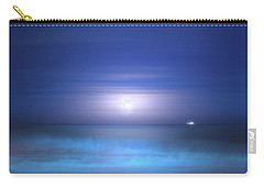 Carry-all Pouch featuring the photograph Salt Moon by Mark Andrew Thomas
