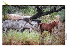 Salt River Wild Horses Carry-all Pouch