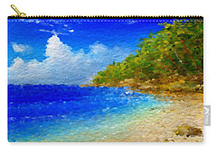 Salt Water Beach Carry-all Pouch
