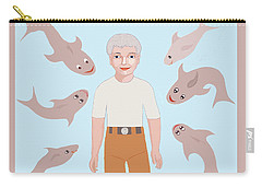 Salt Water Friends Carry-all Pouch