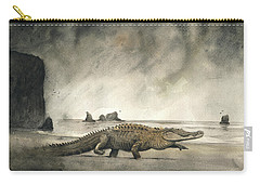 Saltwater Crocodile Carry-all Pouch